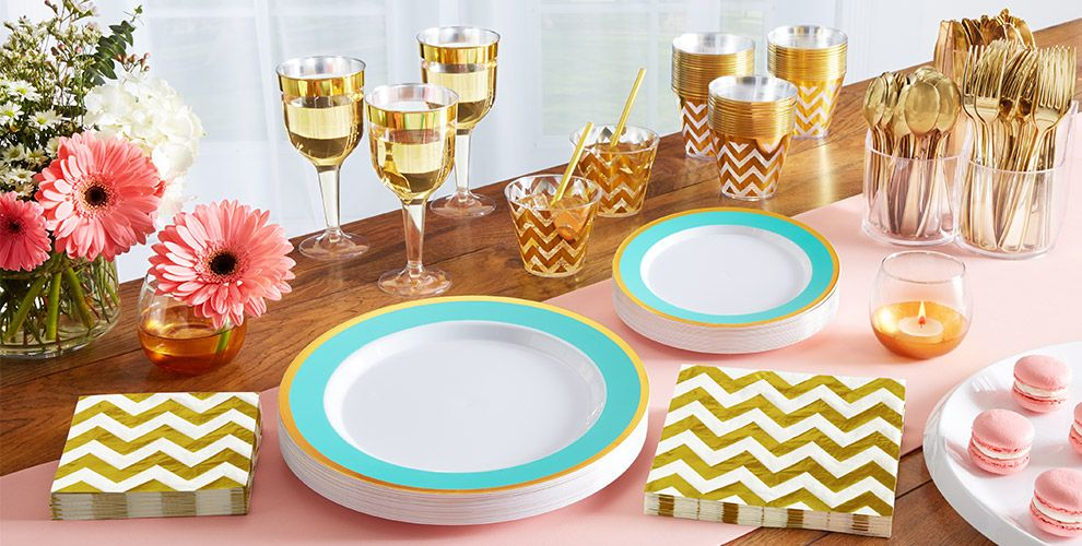 Robin's Egg Tableware