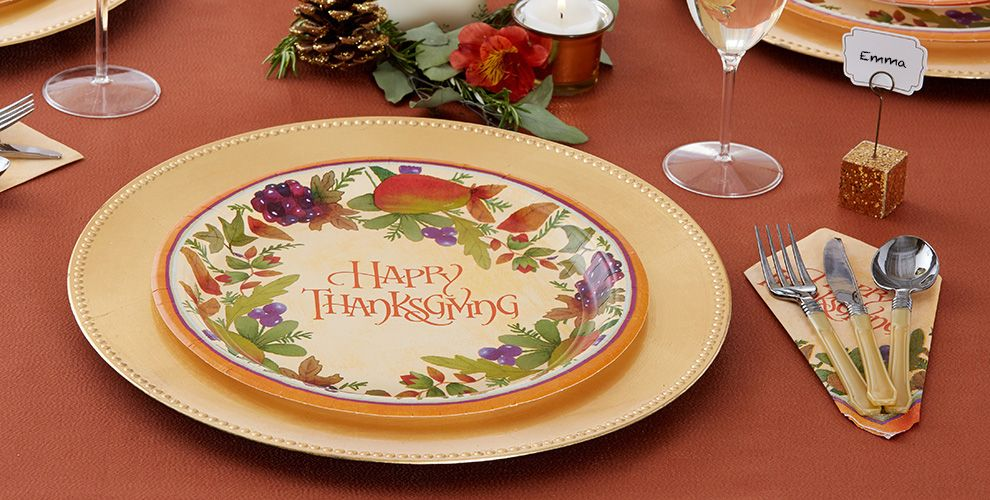 Thanksgiving Medley Party Supplies