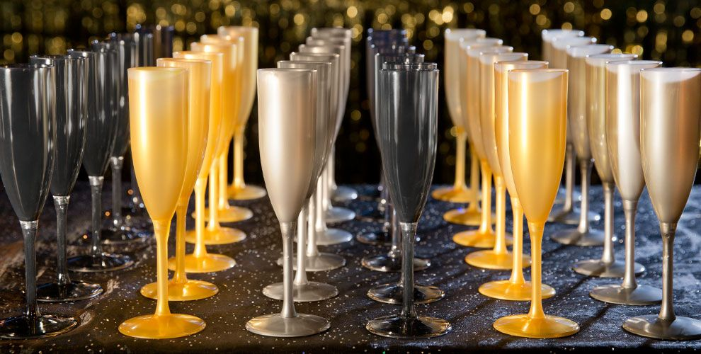 Bubbly Celebration Cheers to a New Year Tableware