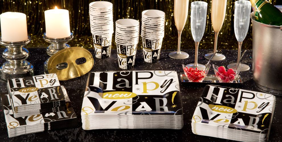 New Years Block Party Supplies