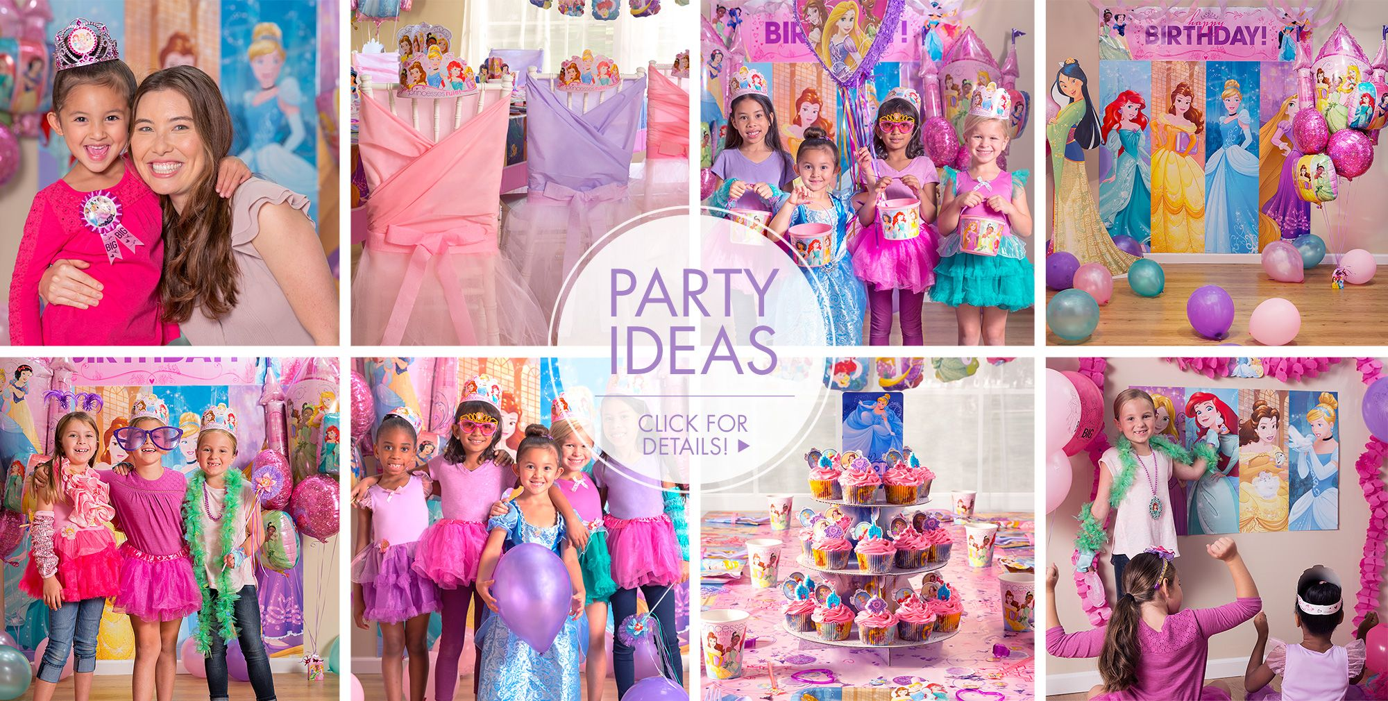Disney Princess Party Supplies Princess Party Ideas Party City