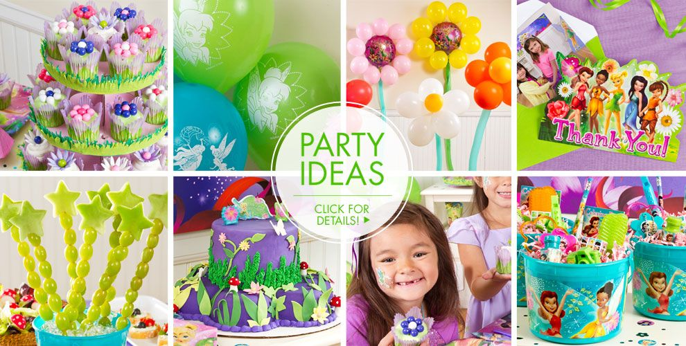 Tinkerbell Party Supplies Birthday Ideas City