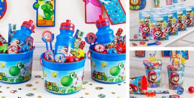 Super Mario Party Favors Stickers Stationery Candy Party City