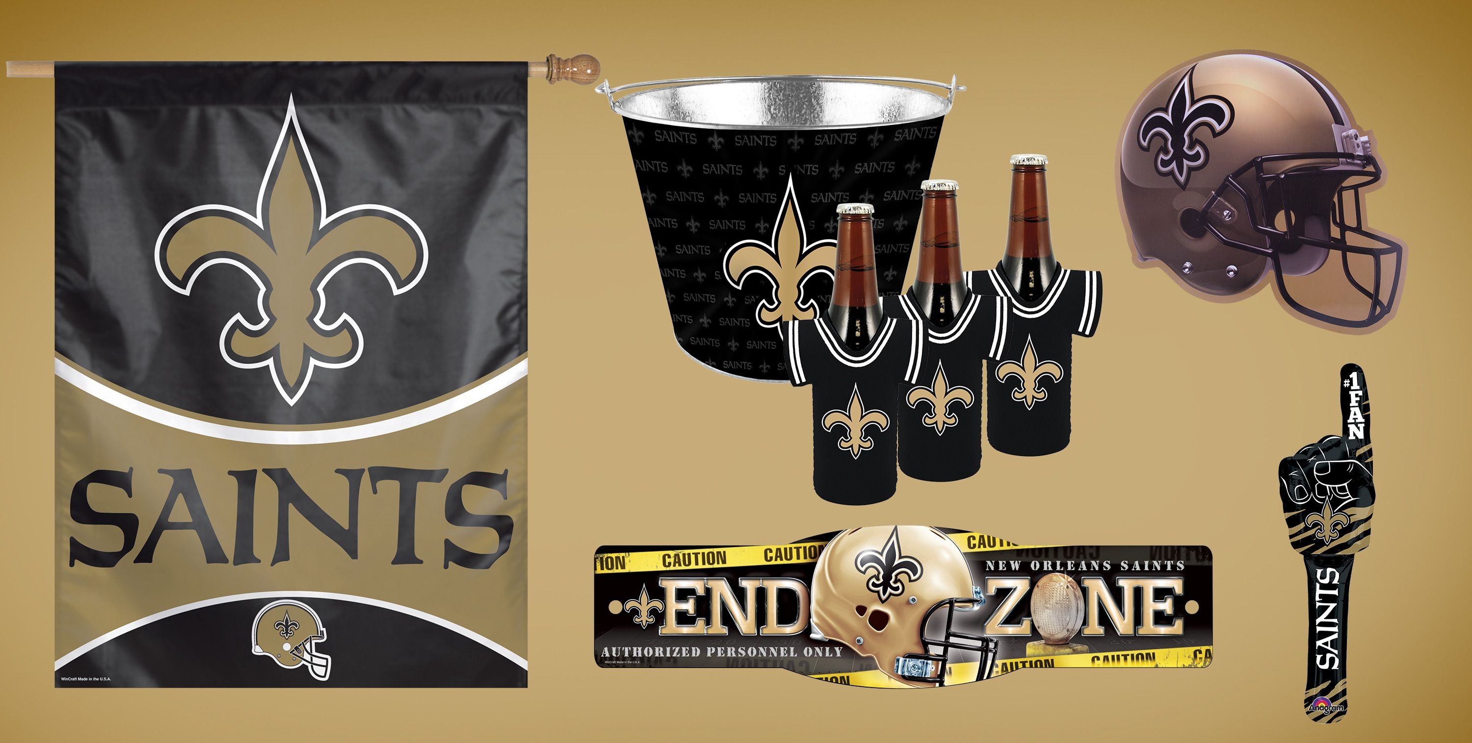NFL New Orleans Saints Party Supplies | Party City
