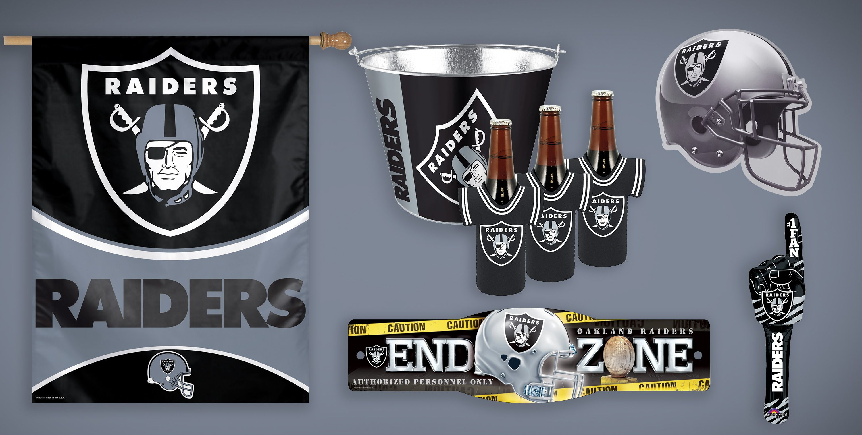 NFL Oakland Raiders Party Supplies