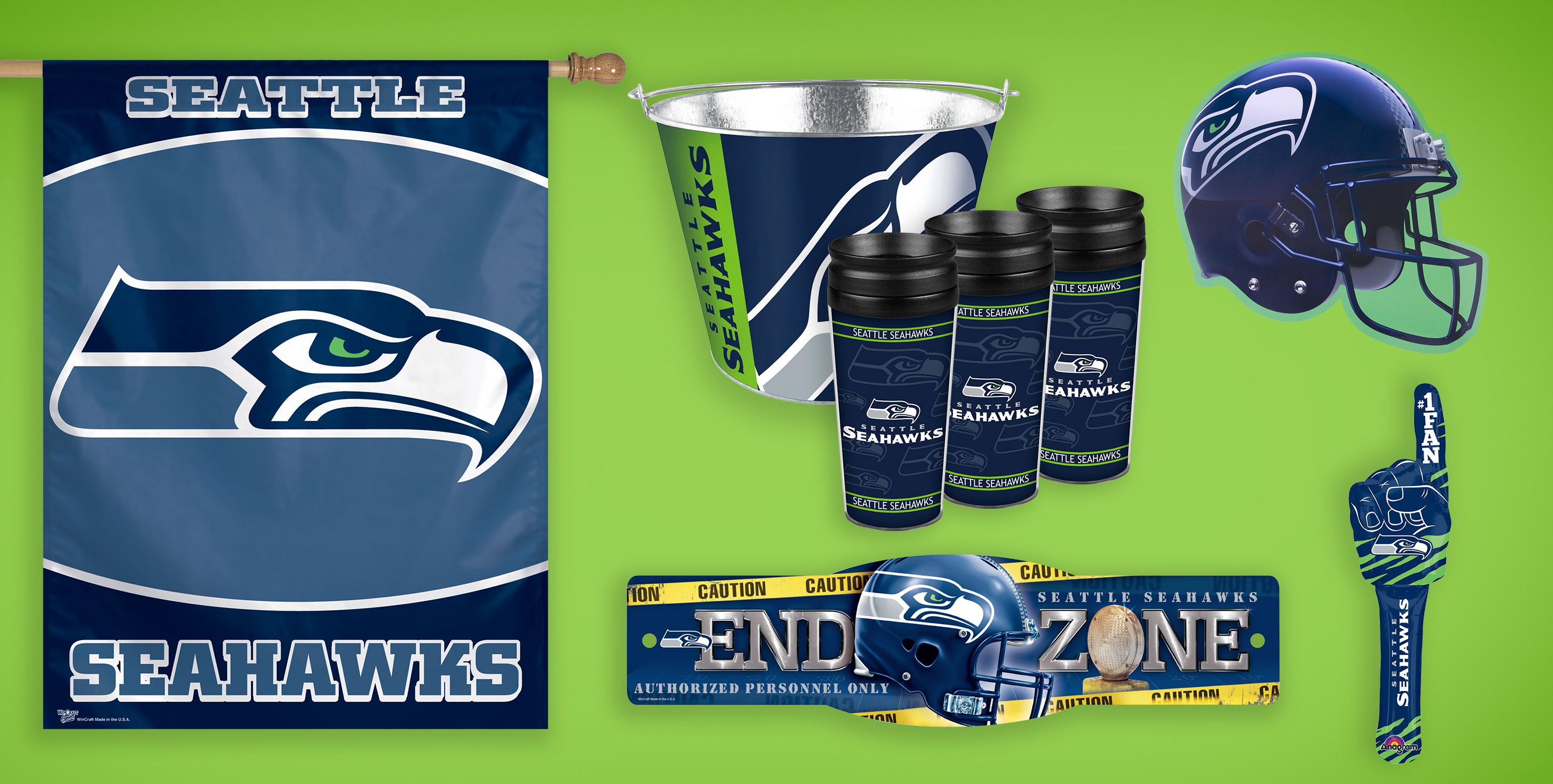 NFL Seattle Seahawks Party Supplies