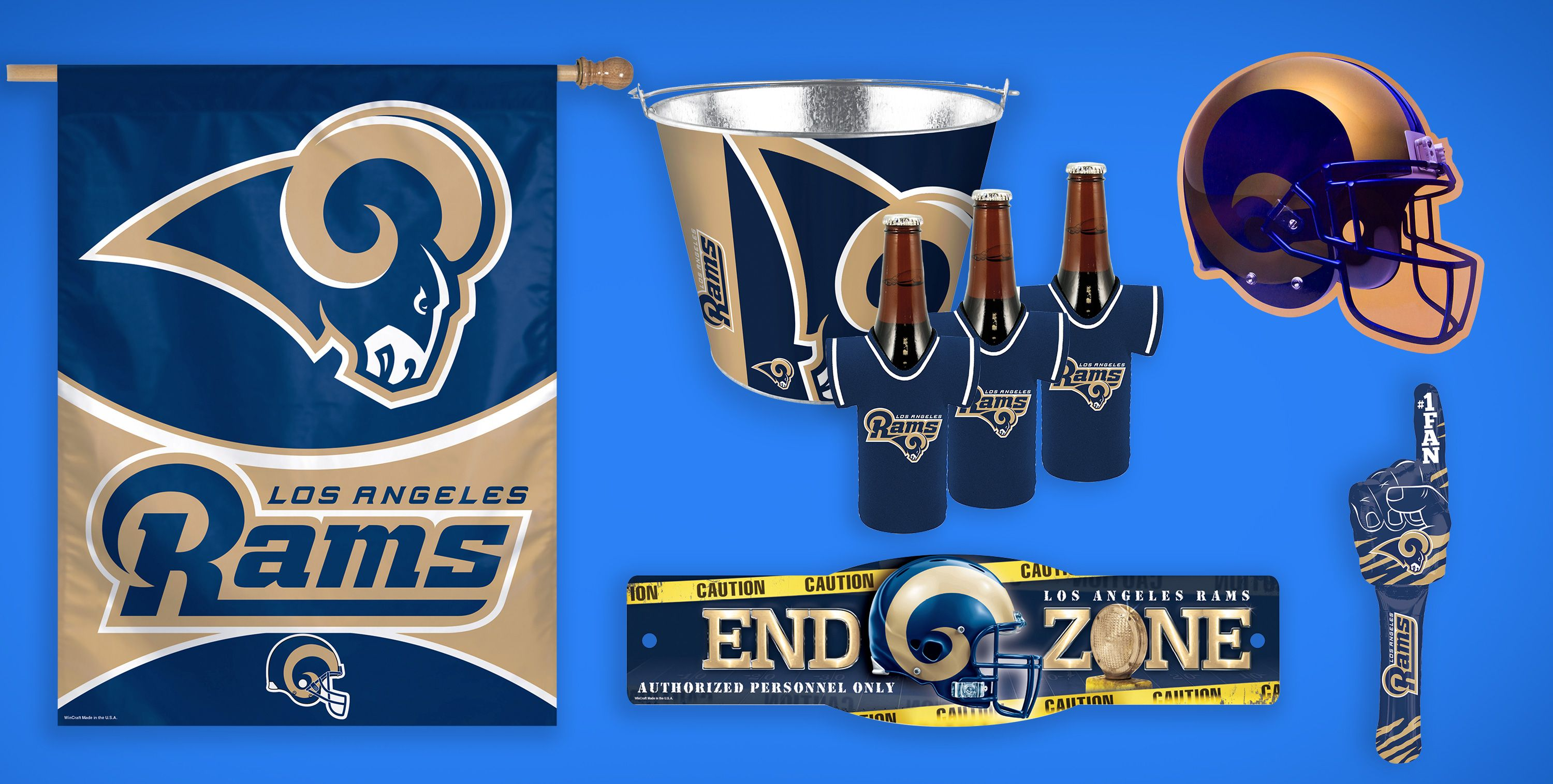 NFL Los Angeles Rams Party Supplies