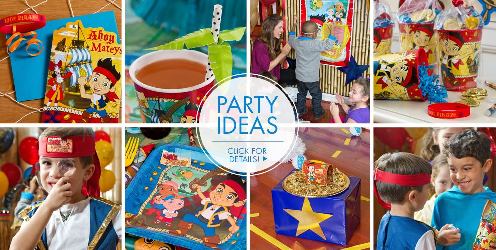 Jake and the Never Land Pirates Party Supplies | Party City