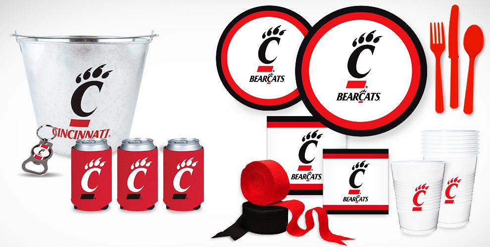 Cincinnati Bearcats Party Supplies