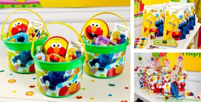 Elmo Party Favors Tattoos Bubbles Toys More Party City