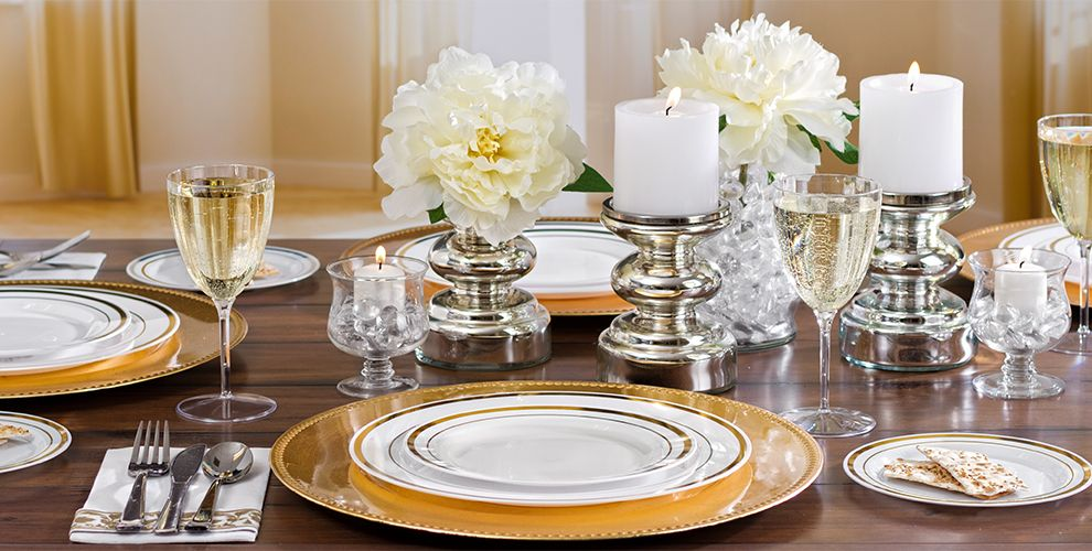 White Gold Premium Tableware