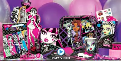 Monster High Party Supplies ... & Monster High Party Supplies - Monster High Birthday Ideas | Party City