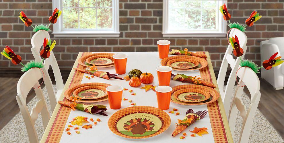 Turkey Dinner Thanksgiving Party Supplies