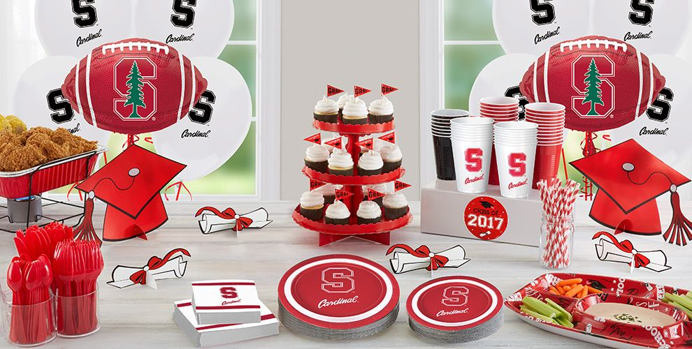 Stanford Cardinal Party Supplies