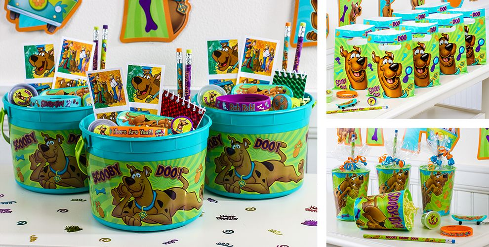 Scooby Doo Birthday Party Decorations: Tattoos, Magnifying Glasses