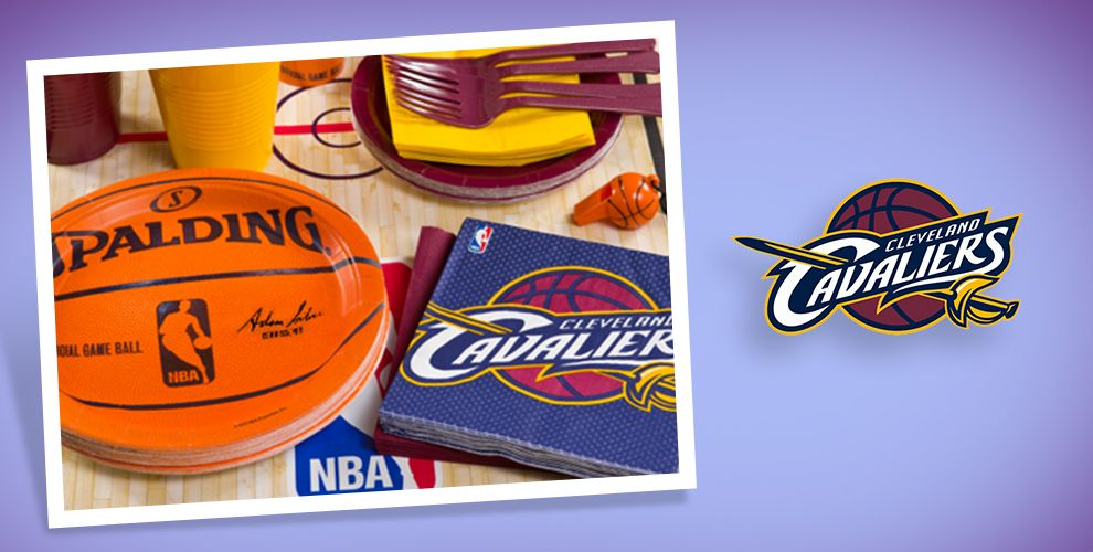 NBA Cleveland Cavaliers Party Supplies
