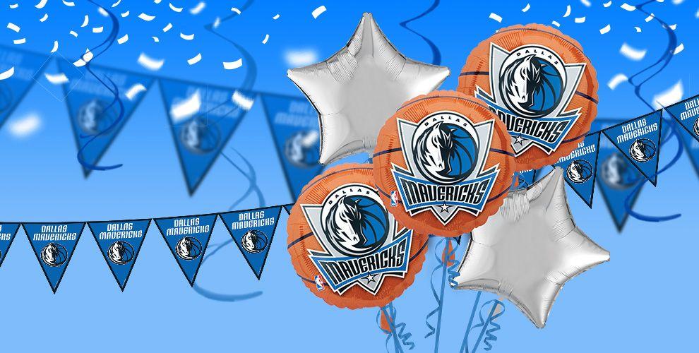 NBA Dallas Mavericks Party Supplies