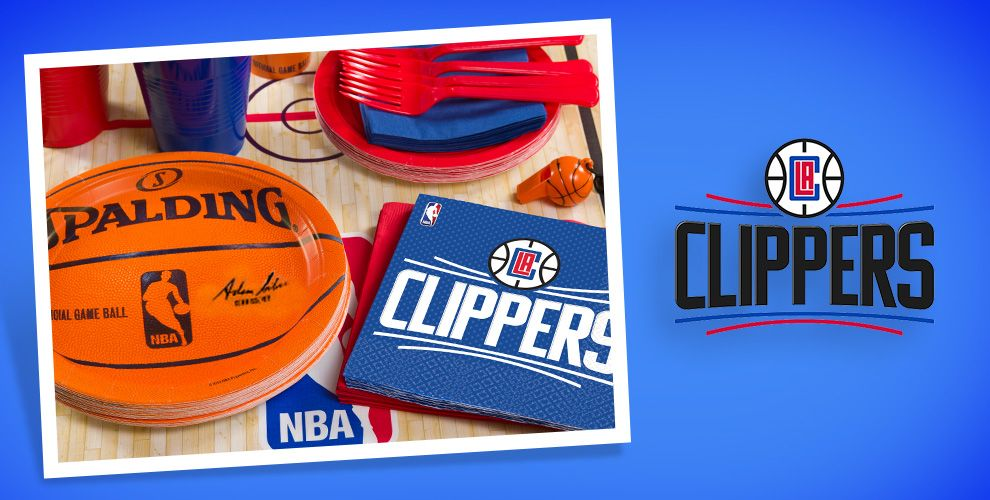 NBA Los Angeles Clippers Party Supplies