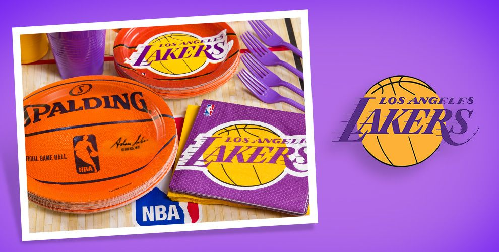 NBA Los Angeles Lakers Party Supplies