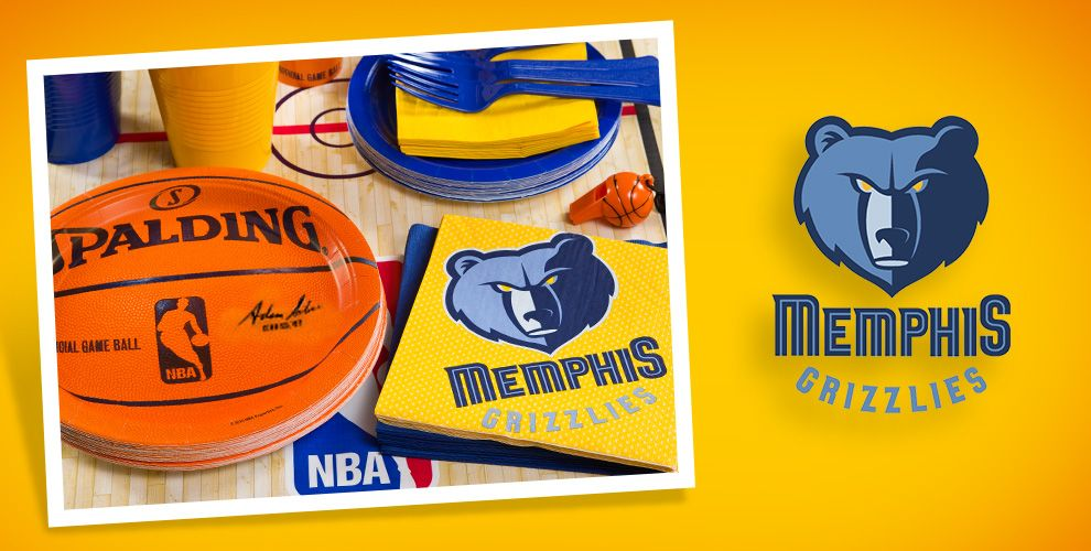 NBA Memphis Grizzlies Party Supplies