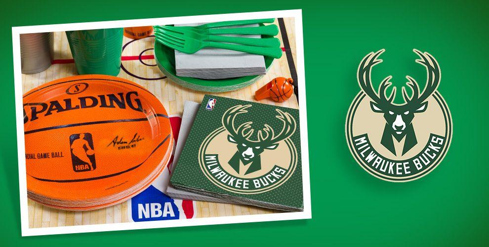 NBA Milwaukee Bucks Party Supplies