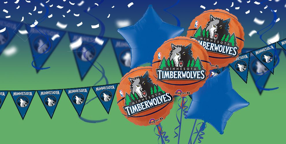 NBA Minnesota Timberwolves Party Supplies