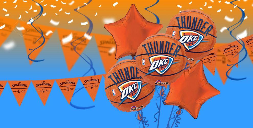 NBA Oklahoma City Thunder Party Supplies