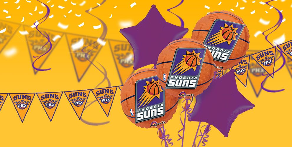 NBA Phoenix Suns Party Supplies