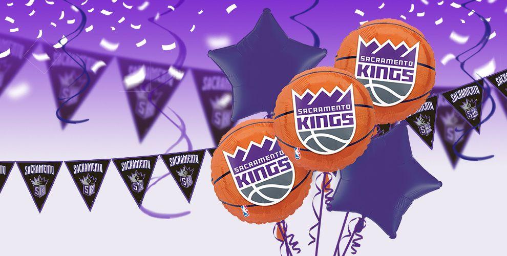 NBA Sacramento Kings Party Supplies