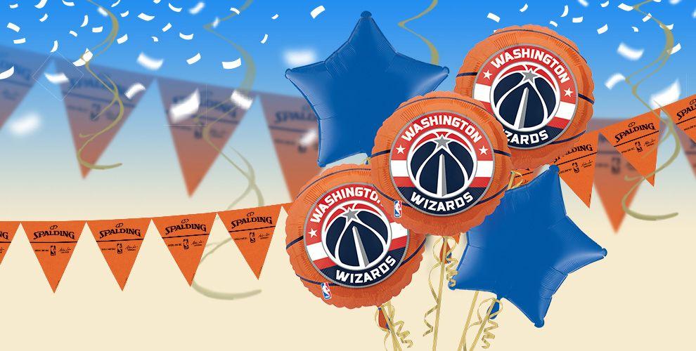 NBA Washington Wizards Party Supplies