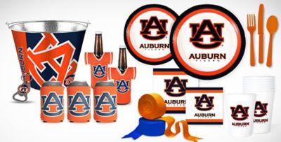 auburn tigers party supplies party city rh partycity com Auburn Tigers Logo Stencil Auburn Tigers Logo Wallpaper
