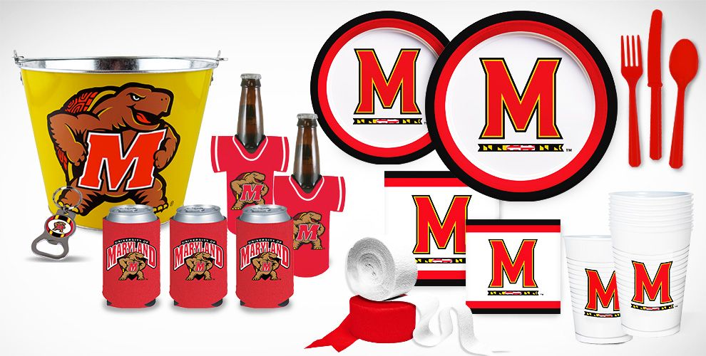 Maryland Terrapins Party Supplies