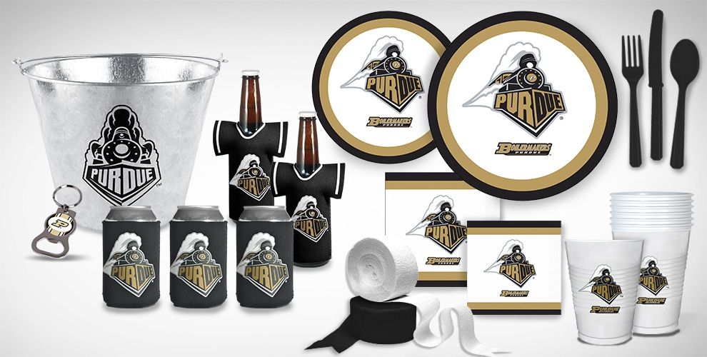 Purdue Boilermakers Party Supplies