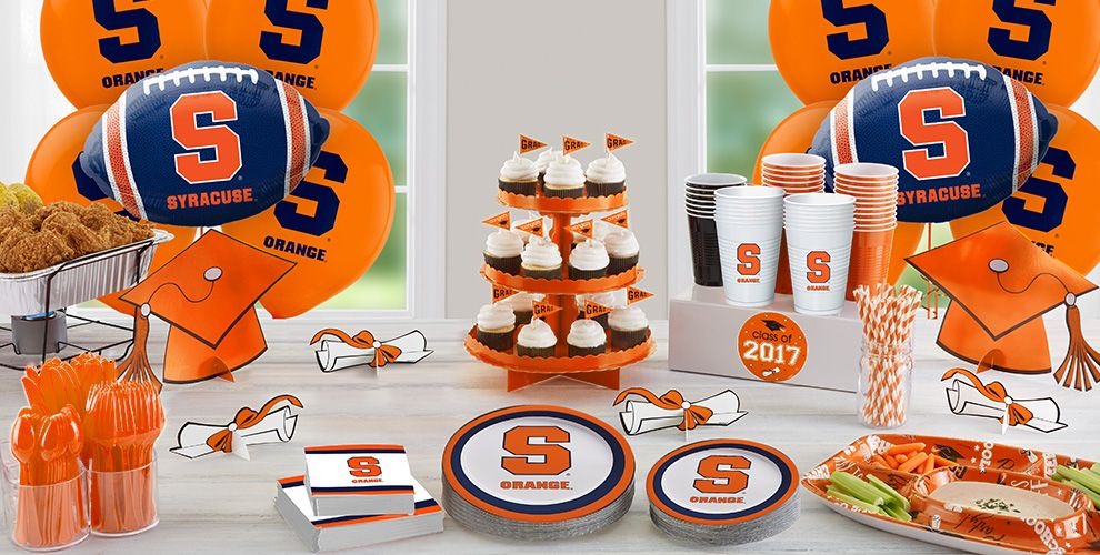 Syracuse Orange Party Supplies