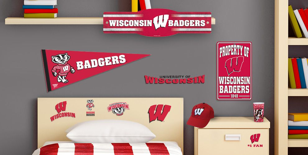 Wisconsin Badgers Party Supplies