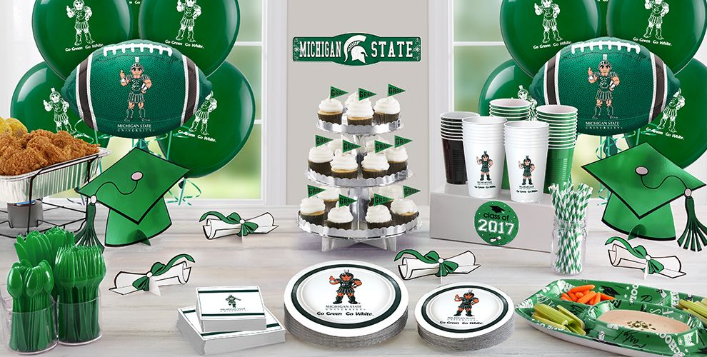 Michigan State Spartans Party Supplies  Party City. Decorative Nutcrackers. Neon Lights For Room. Pink Dining Room Chairs. Decorative Glass Bottle. White Room Divider. Wall Decor Bedroom. Decorative Curtain Brackets. Room Darkening Curtains White