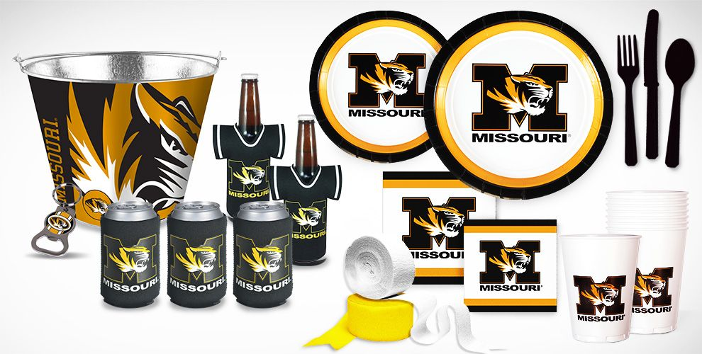Missouri Tigers Party Supplies