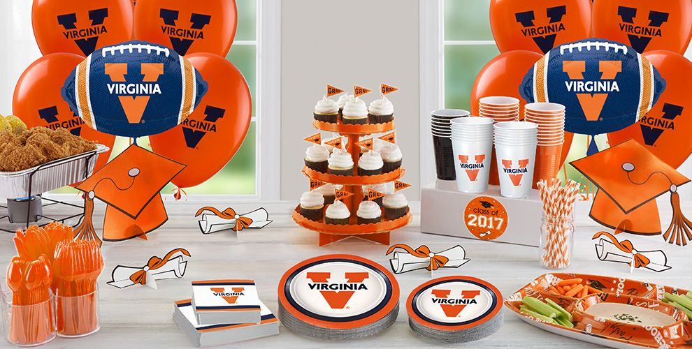 Virginia Cavaliers Party Supplies