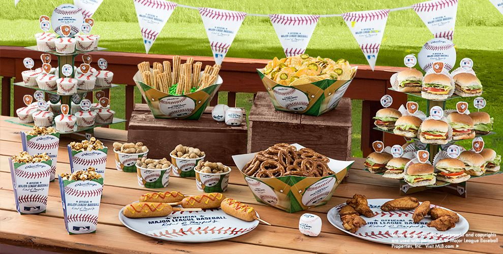 Magnificent wedding party decorations and supplies adornment mlb new york mets party supplies party city junglespirit Choice Image