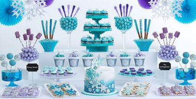 Snowflake / Frost; Snowflake / Frost  sc 1 st  Party City & Snowflakes u0026 Snowman Theme Party | Party City