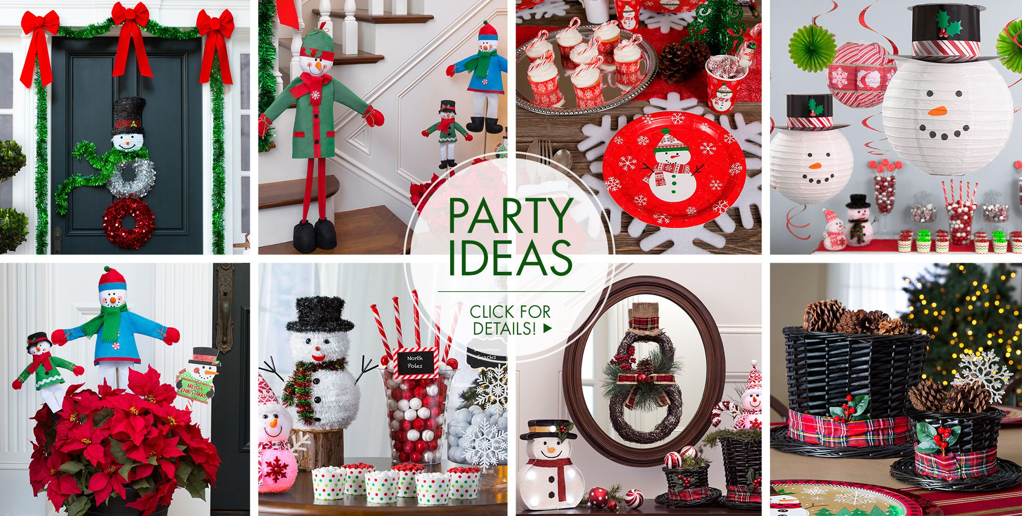 Snowman Theme Party – Party Ideas