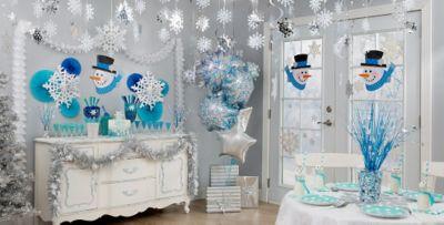 Snowman Decorations Part - 49: Snowflake / ...