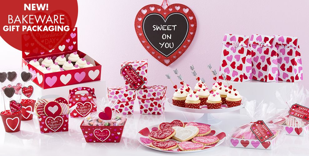 New Valentine's Day Bakeware Gift Packaging
