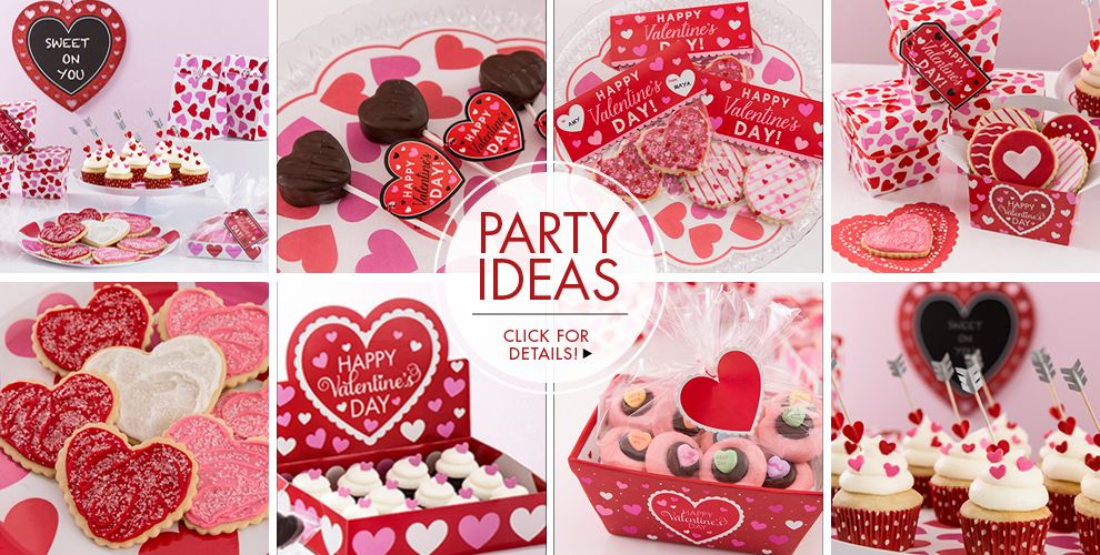 Valentine's Day Baking – Party Ideas, Click For Details!