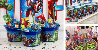 Avengers Party Favors : avengers table and chair set - pezcame.com