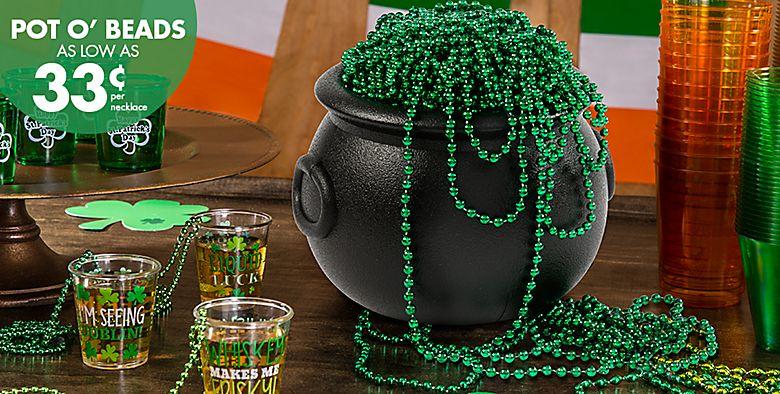 St. Patrick's Day Beads