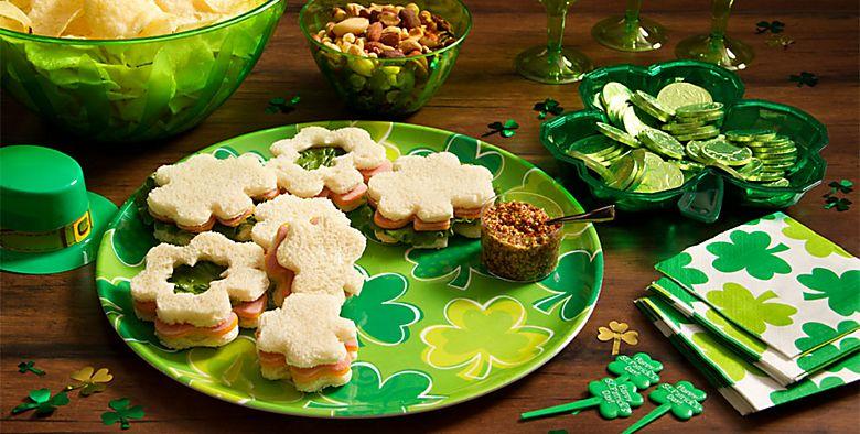 St. Patrick's Day Serveware
