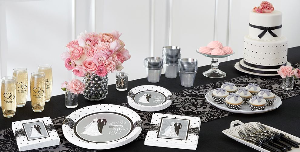 wedding decor suppliers black and white wedding supplies city 9010