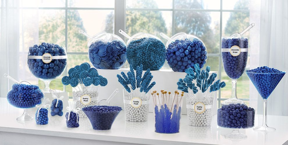 Royal Blue Candy Buffet Supplies Royal Blue Candy