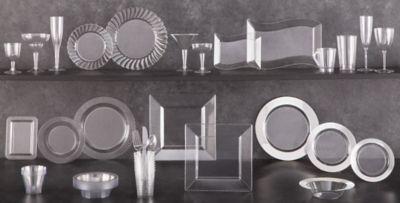 Clear Tableware; Clear Tableware & CLEAR Plastic Tableware - CLEAR Plastic Plates Cups \u0026 Bowls ...